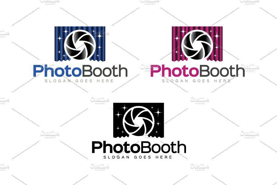 Photo Booth Logo Booth Photo Templates Logo Template Logo Presentation Template Free Photo Booth