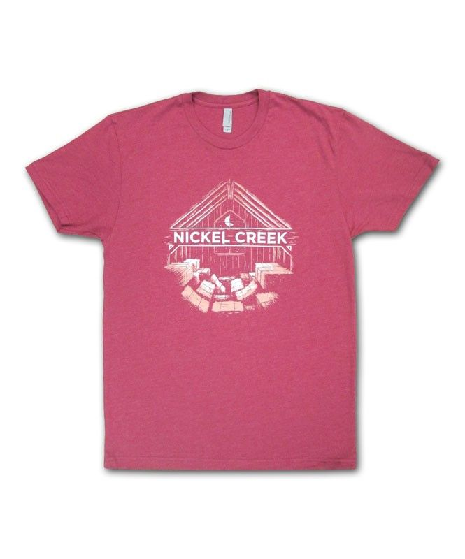Hayloft T-shirt- Nickel Creek  $25  I'm obsessed with these Nickel Creek products!!!