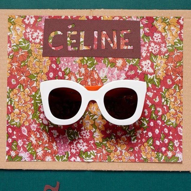 dd96dabaf8f8 Pin de Dieci Decimi em Celine sunglasses