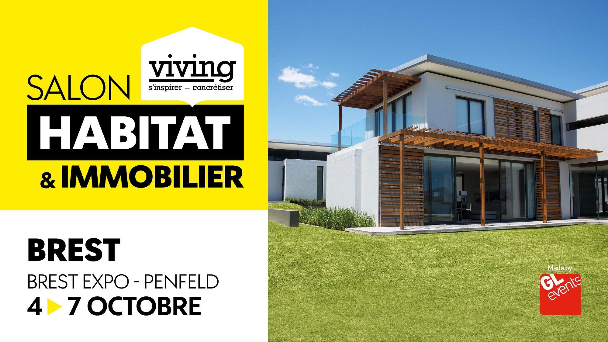 Epingle Par Salon Habitat Immobilier Viv Sur Brest Habitat Amenagement Exterieur Quimper