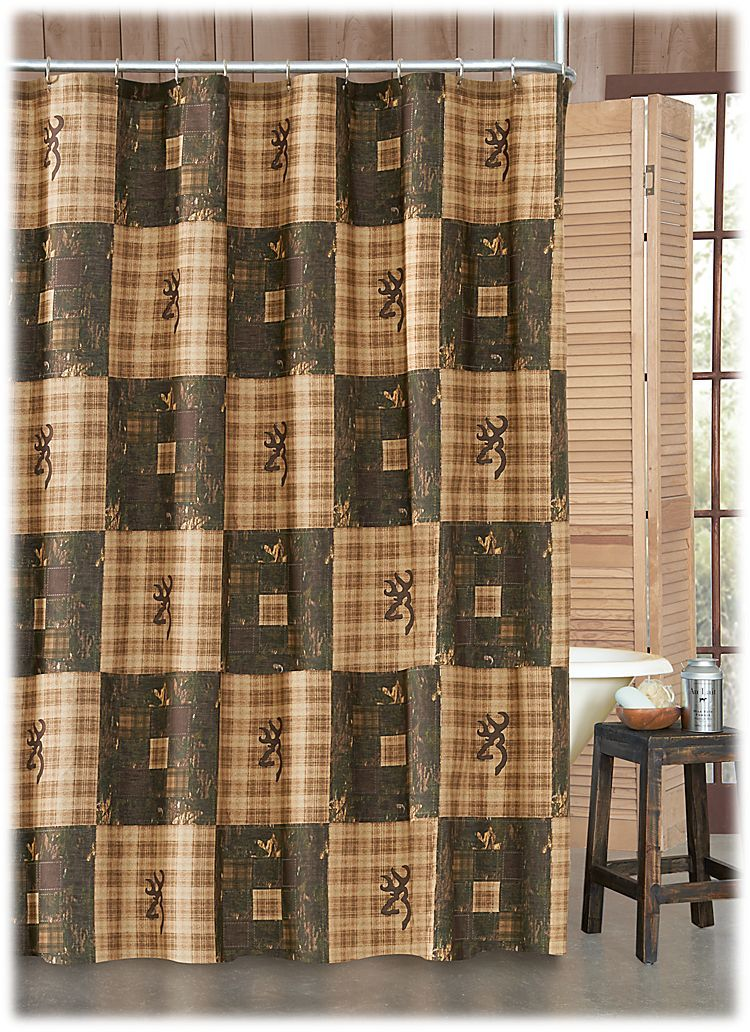 Browning Country Collection Shower Curtain Bass Pro Shops The Best Hunting Fishing Campi Country Shower Curtain Primitive Bathrooms Rustic Shower Curtains