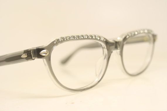Vintage 1960s Cat eye glasses frames. New Old Stock, they were never ...