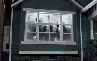 Scary Halloween Window projection Haunted House Decoration ...