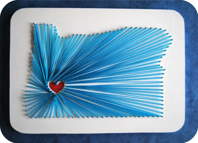 String map art string art crafty and craft string map art solutioingenieria Images