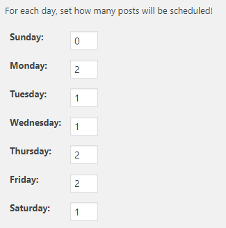 Schedule blog posts WordPress