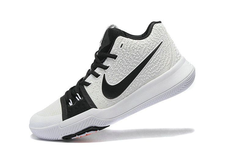 New 2018 Kyrie 3 III Black White Irving Shoes 2018