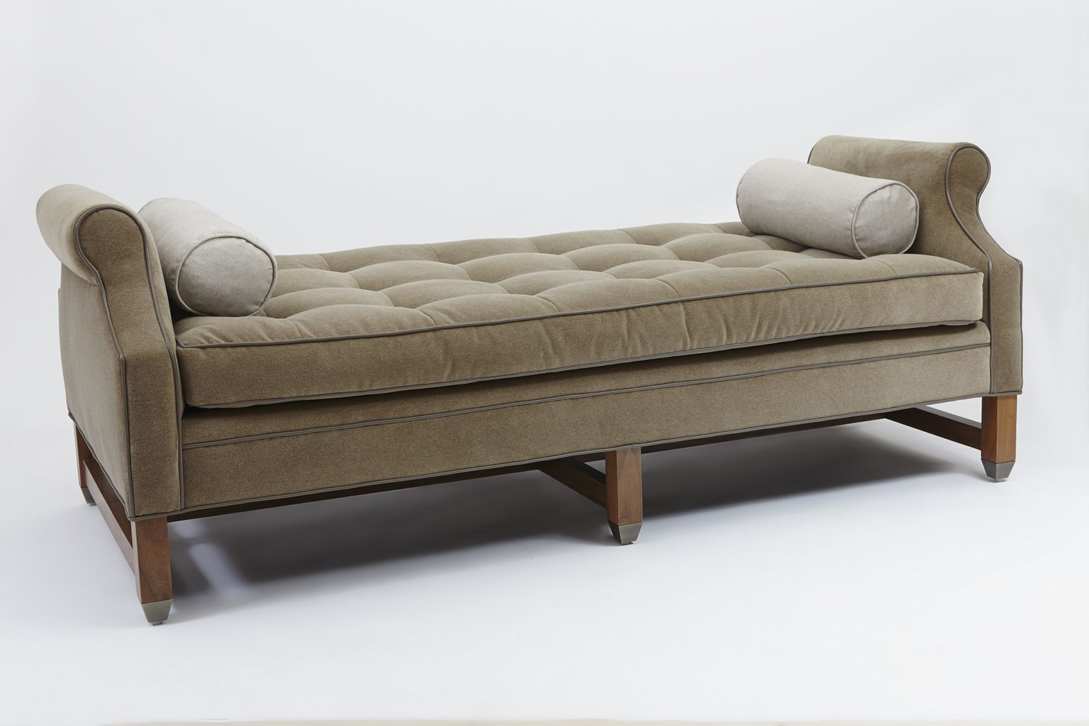 Buy dutch daybed by lawson fenning made to order designer furniture from dering halls collection of mid century modern daybeds