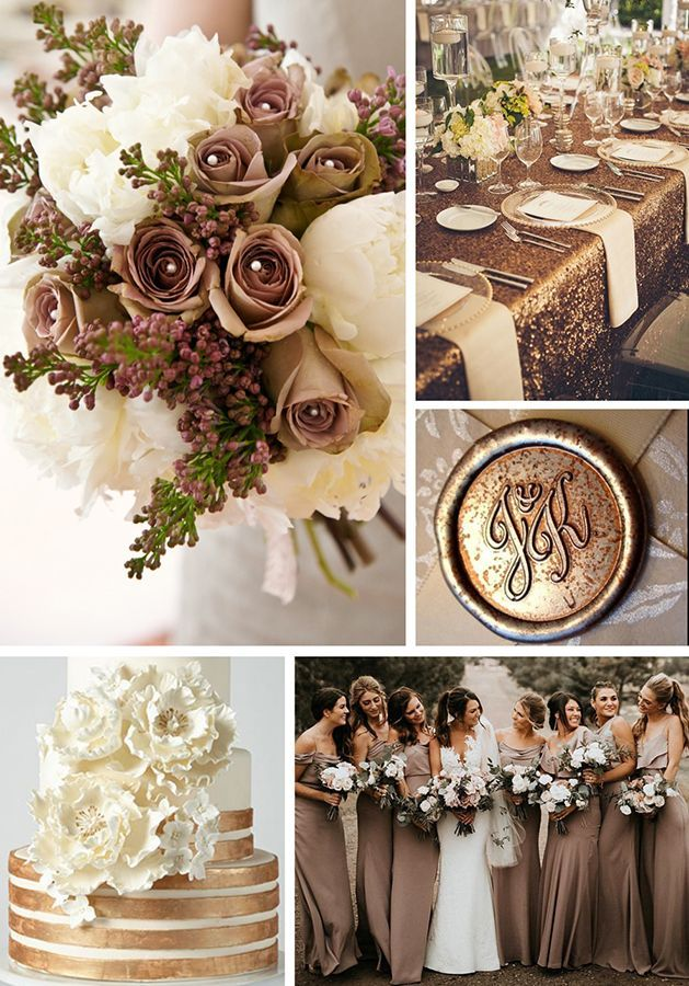 Fall Winter Wedding Color Trends February Wedding Colors