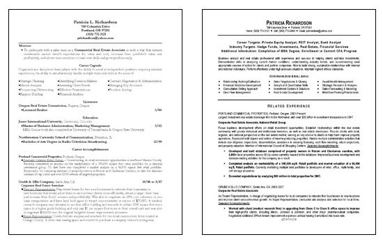 Market Research Analyst Resume Format -   wwwresumecareerinfo