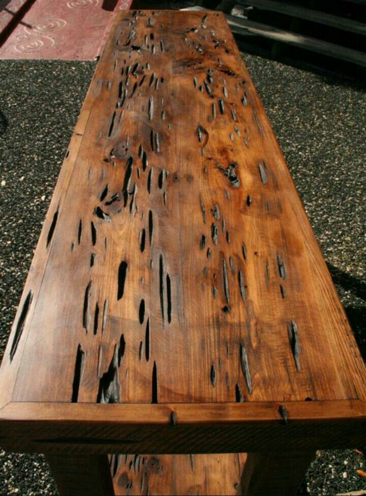 Pecky Cypress Wood