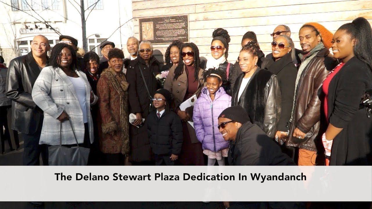 Dedication Of The Delano Stewart Plaza In Wyandanch Long