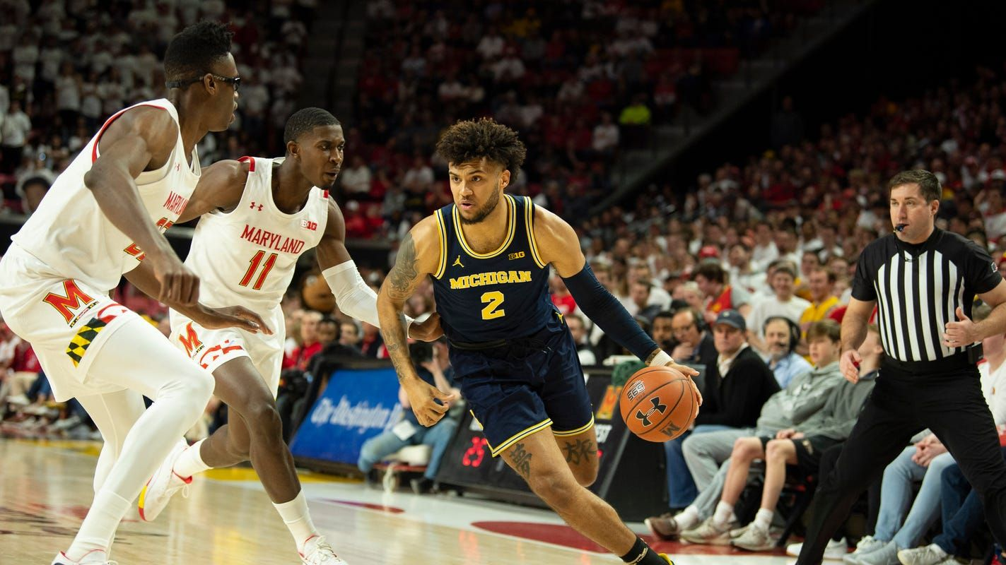 Michigan basketball vs. Maryland Terrapins Live updates