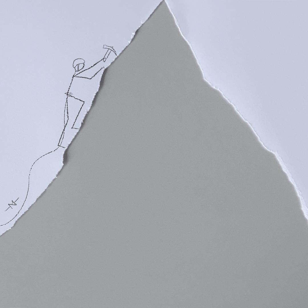 sheet climbing...