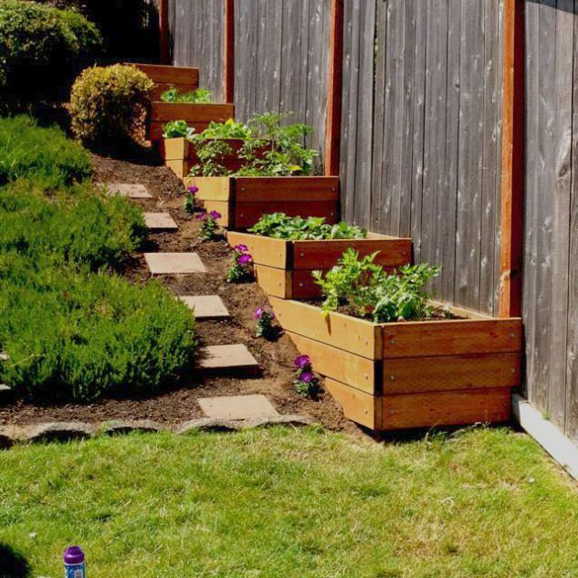 21 Landscaping Ideas For Slopes: Raised Garden Bed Ideas Australia Opposite Raised Garden