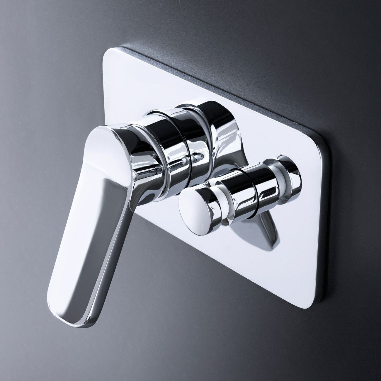 Fantini Levante Wall Mixer With Holder Rogerseller Bath  # Muebles Fantini