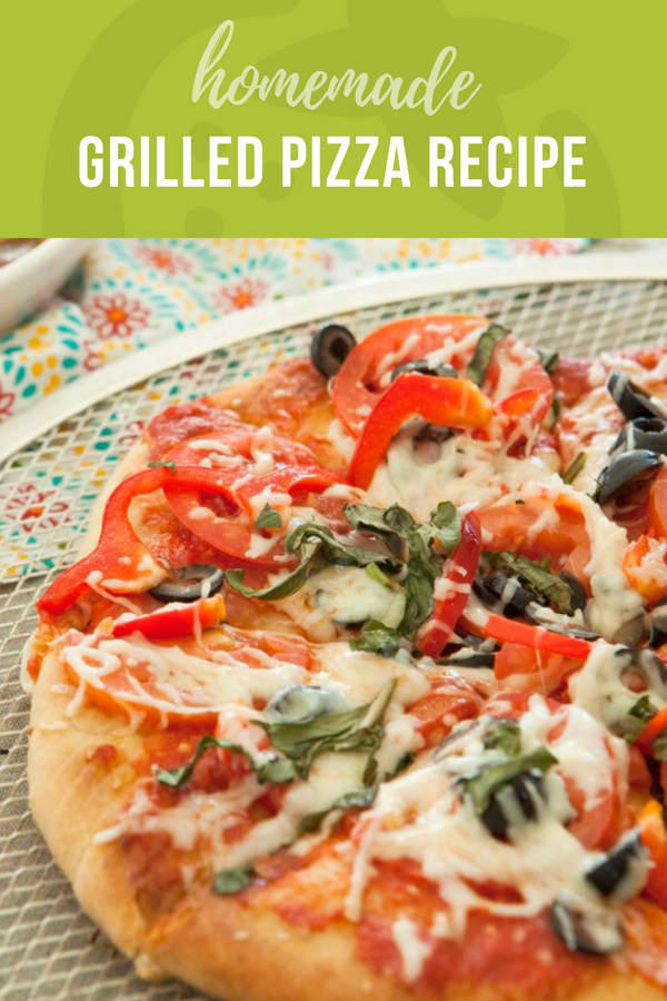 Homemade Grilled Pizza Recipe Super Healthy Kids Recipe Grilled Pizza Healthy Pizza Recipes Pizza Recipes