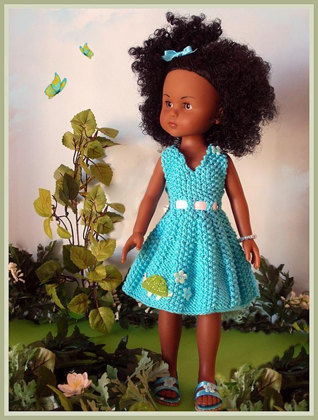 Pin de Huguette en Tricots pour poupée chérie | Pinterest | Muñecas ...