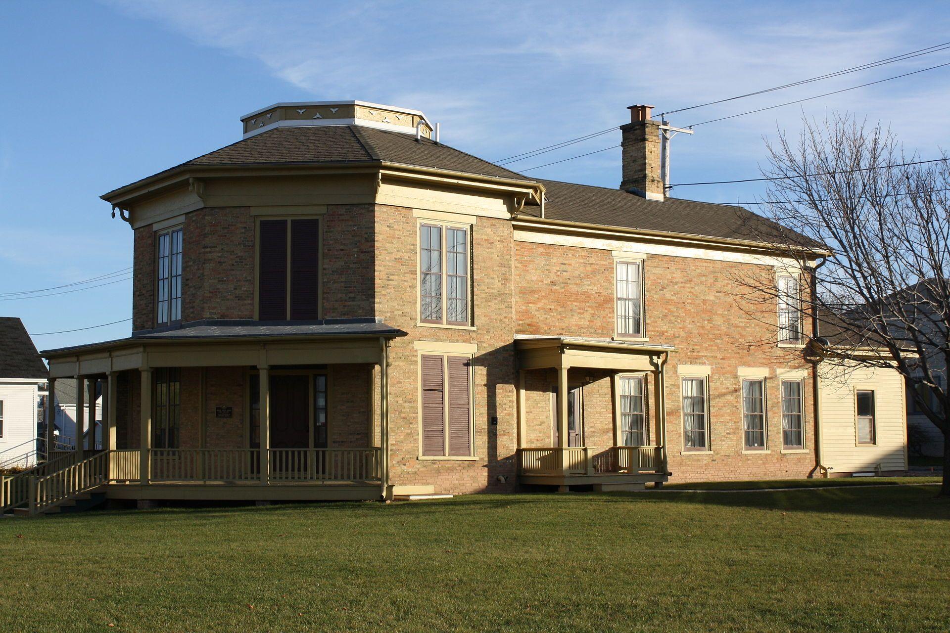 Hiram smith house in winnebago county wisconsin