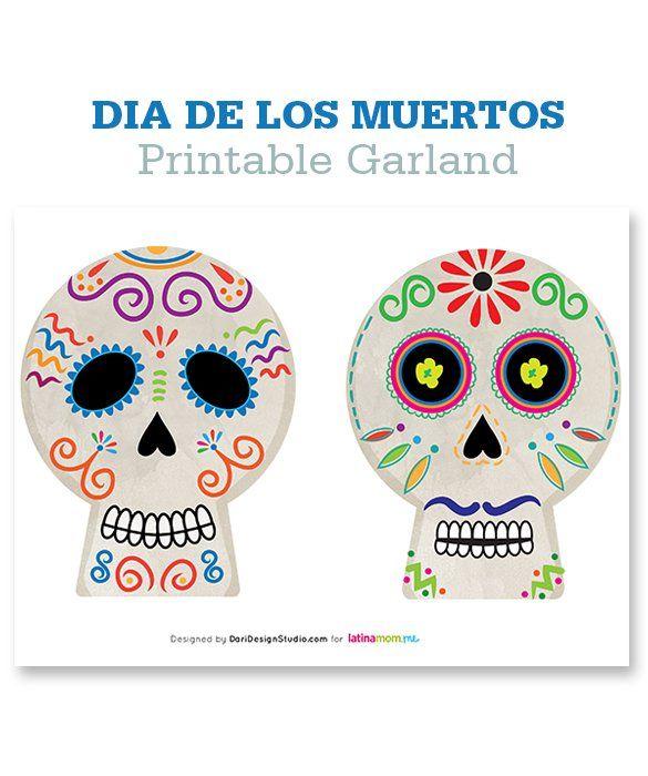 Free Printable Download Calaveras - day of the dead / dia ...