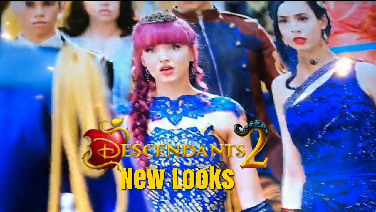 Descendants 2 New Look Villains Descendientes 2 Disney Channel Descendants Disney Channel Descendants 2 Movies And Tv Shows