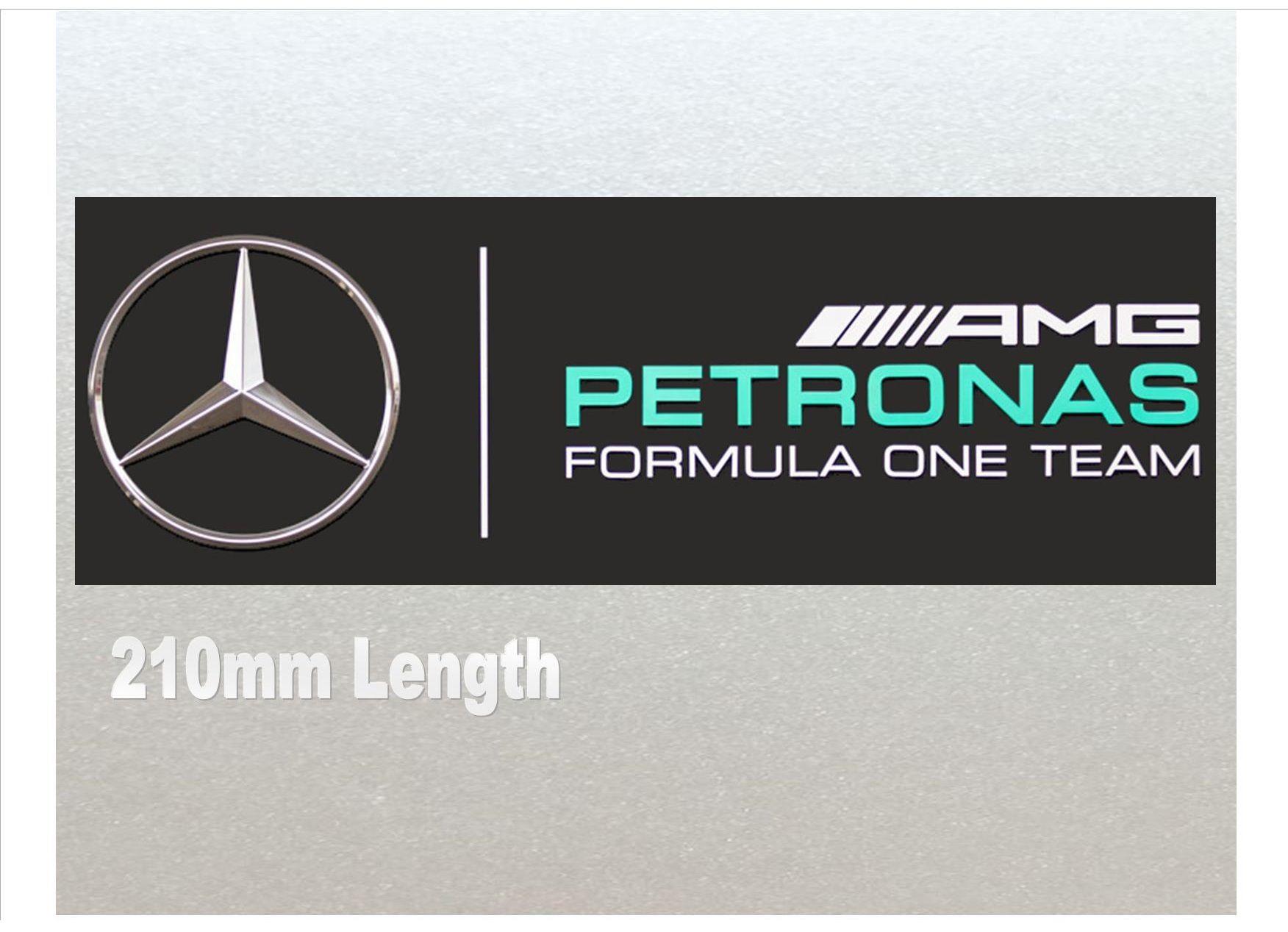 Xtra Large Mercedes Petronas Formula One F1 Racing Car Van Rc Etc Sticker 210mm Length High Quality Laminated Vinyl Petronas Mercedes Formulas [ 1268 x 1752 Pixel ]