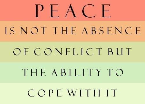 Zion S Catch 22 Conflict Management Versus Conflict Resolution Conflict Quotes Words Quotes Positive Words