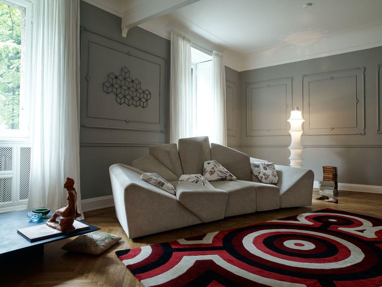 Divani Con Struttura In Legno.Scegli Un Divano Di Design Per Il Tuo Salotto In Stile Moderno