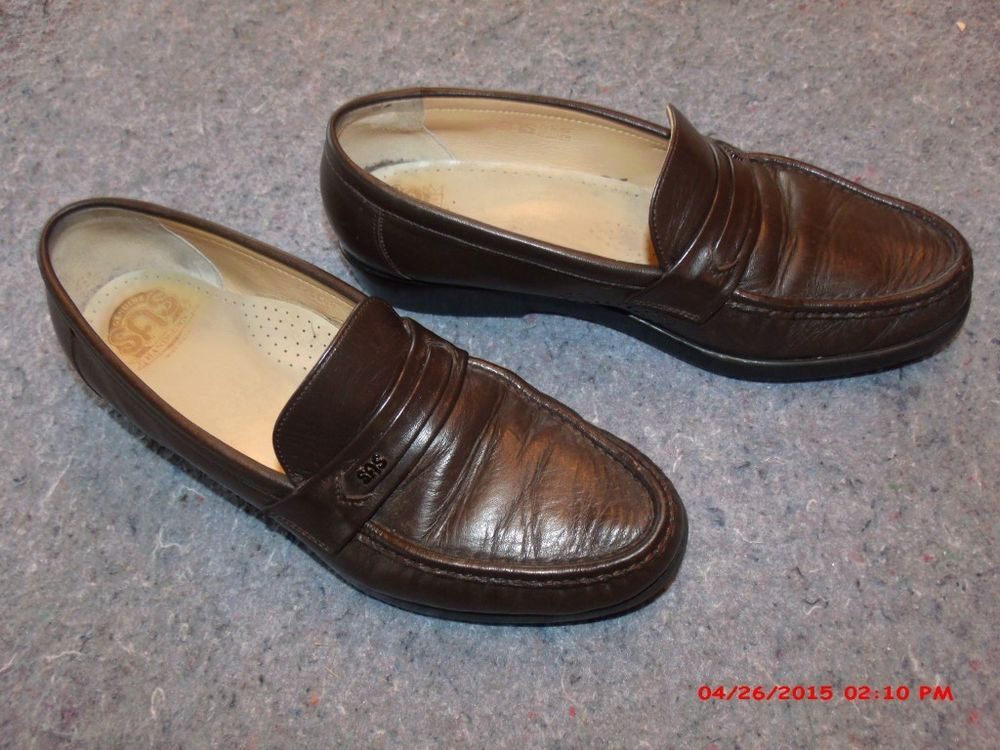 Men's SAS Shoes Sz 10.5 N Very Nice Loafers Walking Shoes
