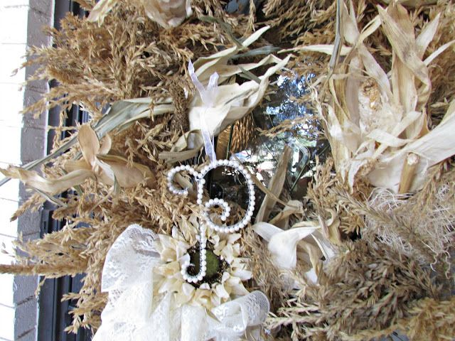 Penny's Vintage Home: Dried Corn Tassel Wreath