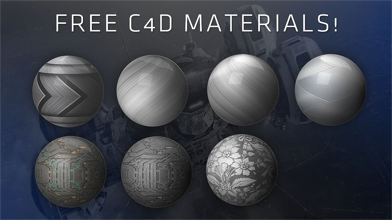 Free C4D Material Collection | Cinema 4D | Cinema 4d