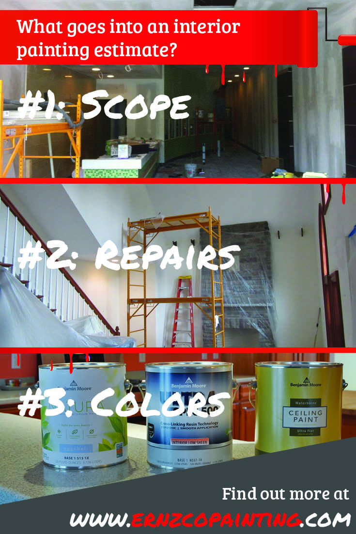 Ever wonder what goes into an interiorpainting estimate