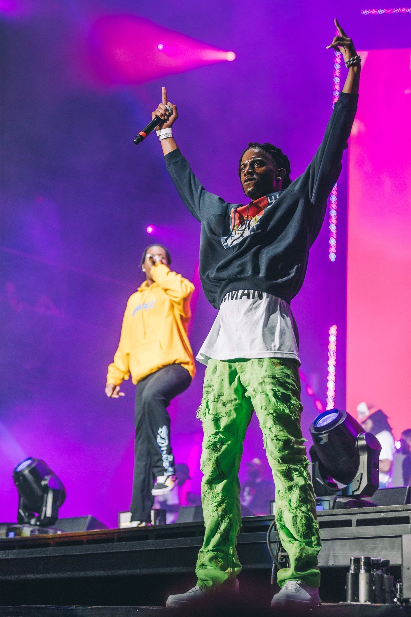 Playboi Carti A Ap Rocky May 11 2018 Miami Rap Concert Coachella Concert Concert Photography