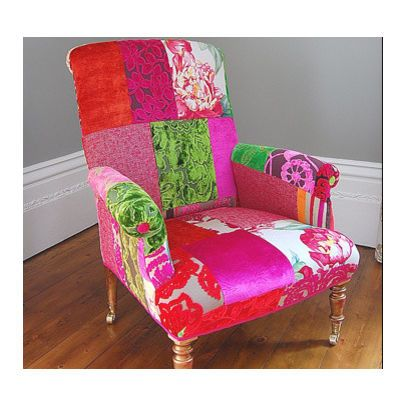 chair - eclectic - living room - london - D Swift | Sew Patchwork ...