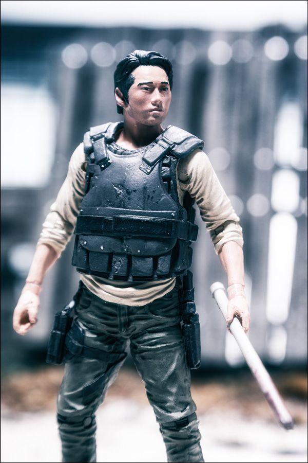 New Walking Dead Action Figures | The Walking Dead Glenn Action Figure