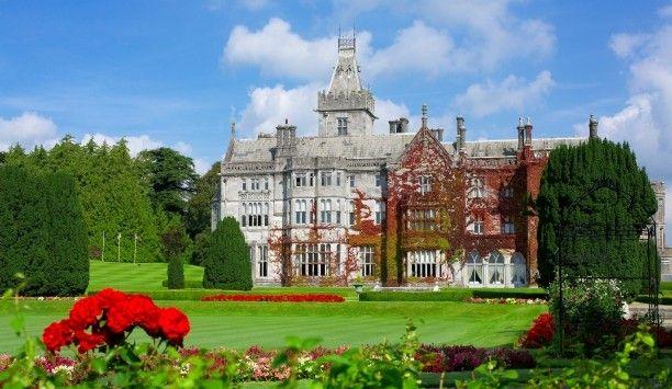 Adare Manor - our hotel in Ireland!