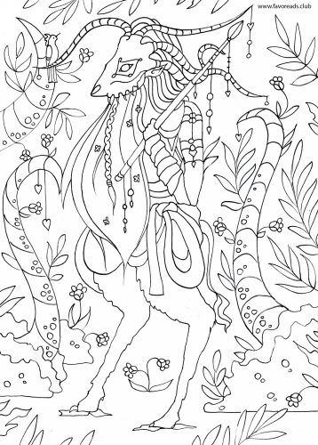 The Best Free Adult Coloring Book Pages | Fantasy Coloring Pages for ...