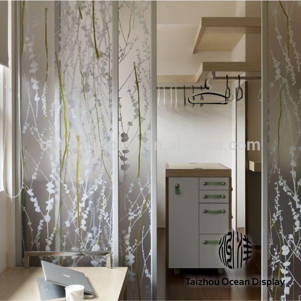 Awesome Clear Flower Partition Petg Panel Manufacturer,Translucent Wall Panel, Sliding Folding Doors Plastic, Part 18