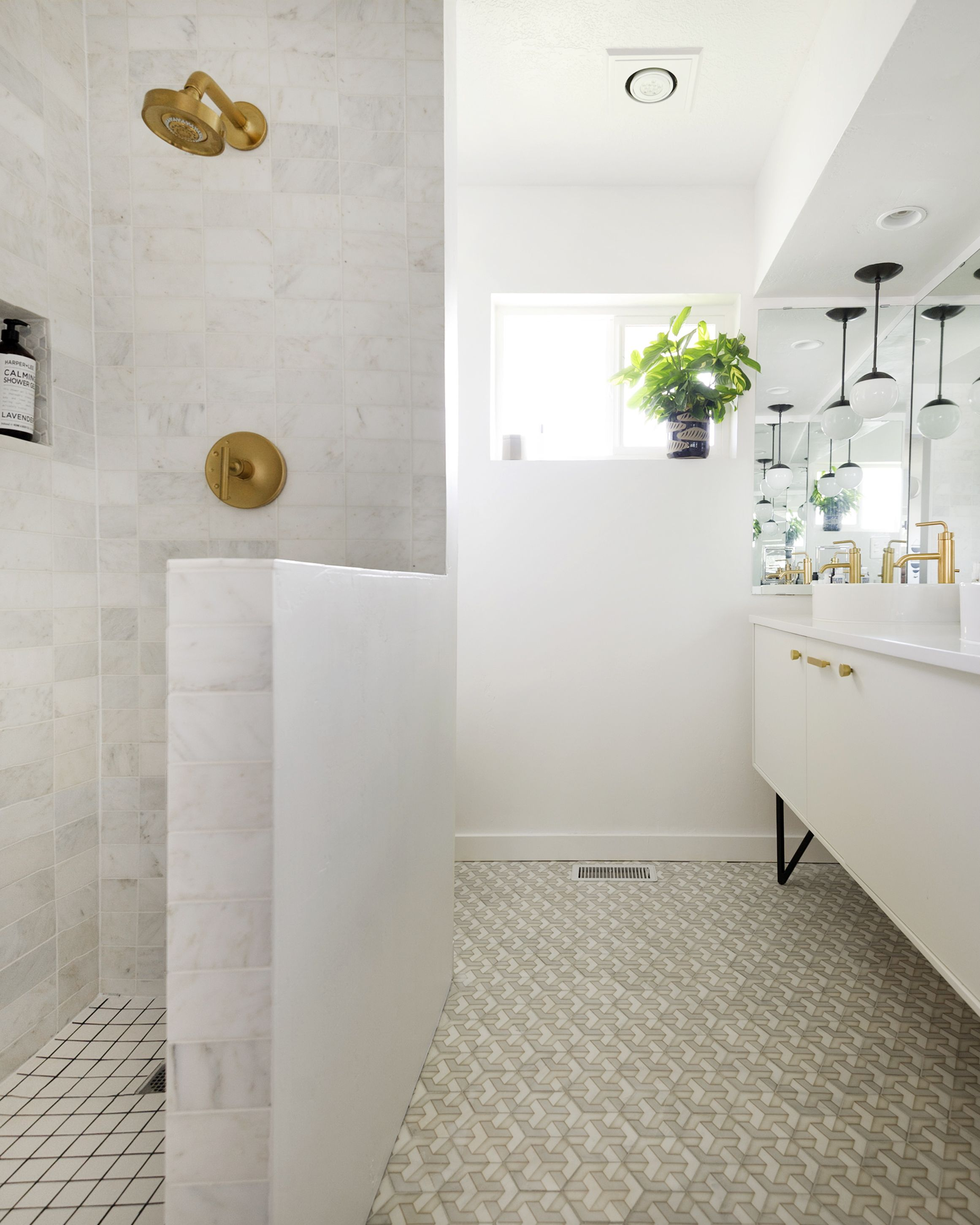 unique hexagon bathroom tile hand crafted on carrara marble thassos limestone more