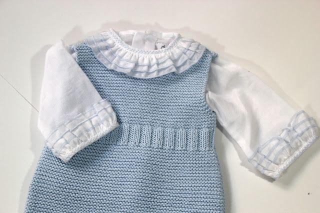 Diy tejer ropa de bebe pelele patrones gratis | Tricot Bambino ...