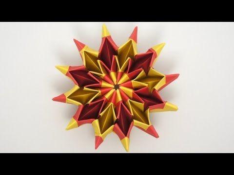 Curlicue Kinetic Origami Youtube Dobraduras Pinterest