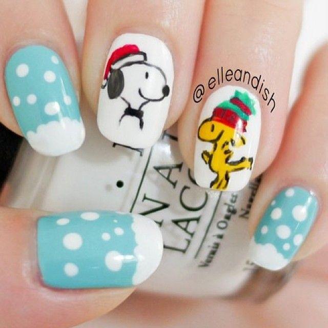 Christmas By Elleandish Nail Nails Nailart Nail Love