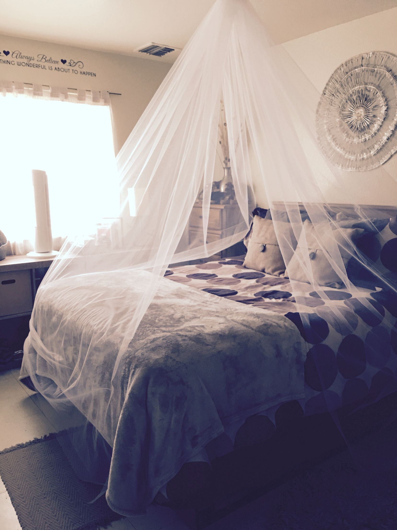 Mosquito Nets Makes Any Bedroom Look Great! I Made This