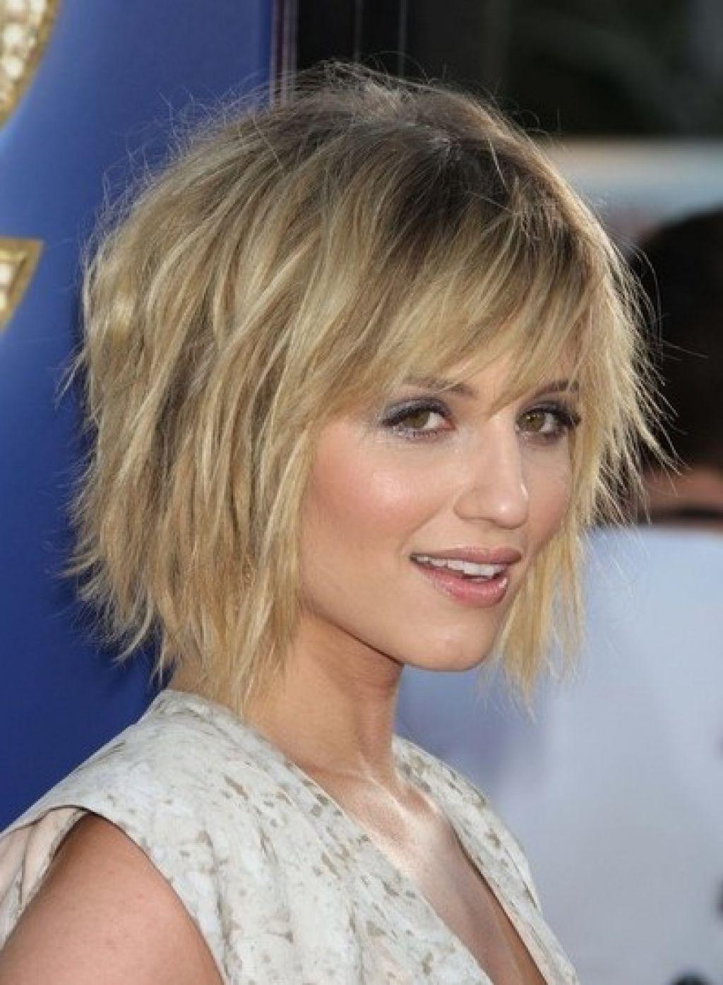 Short Choppy Layered Hair Short Layered Haircuts With Bangs Women