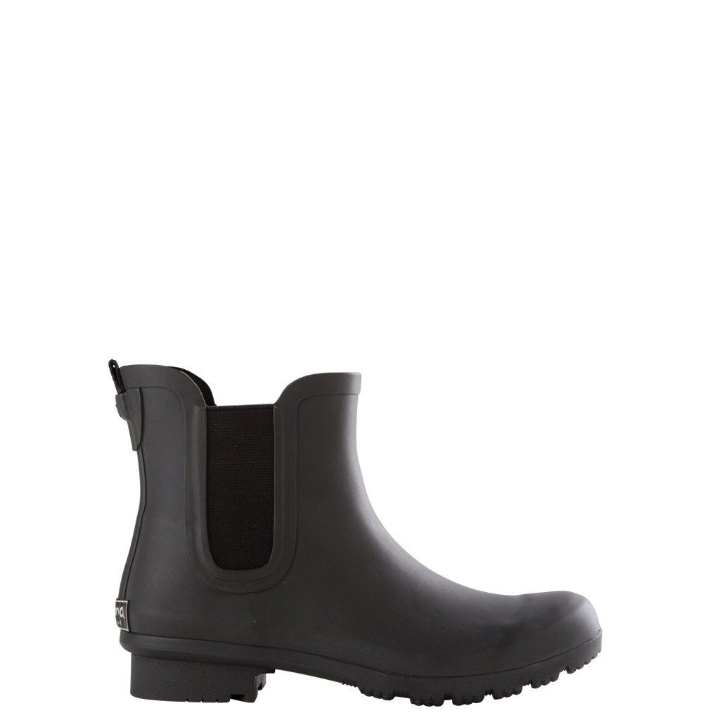 Roma Chelsea Matte Charcoal In 2019 Chelsea Rain Boots
