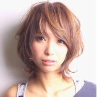 エラ張り ベース型さんに似合う髪型 ショートのヘアスタイル Curet
