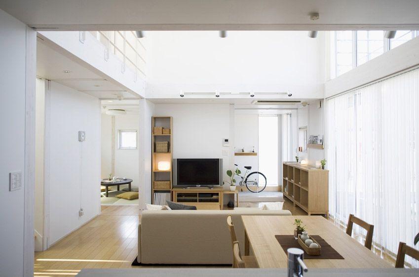 Woonkamer Van Muji : Minimalist japanese prefab house for the home muji