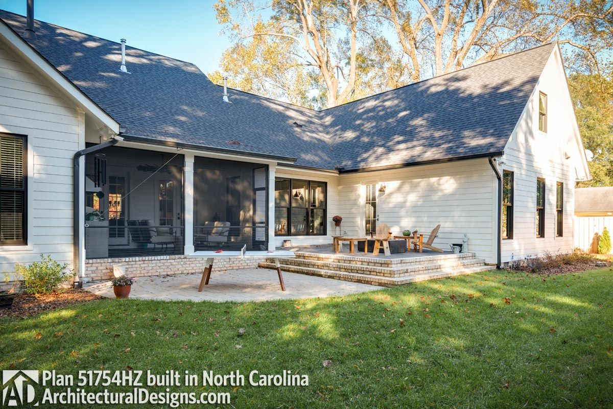 House Plan 51754HZ comes to life in North Carolina with