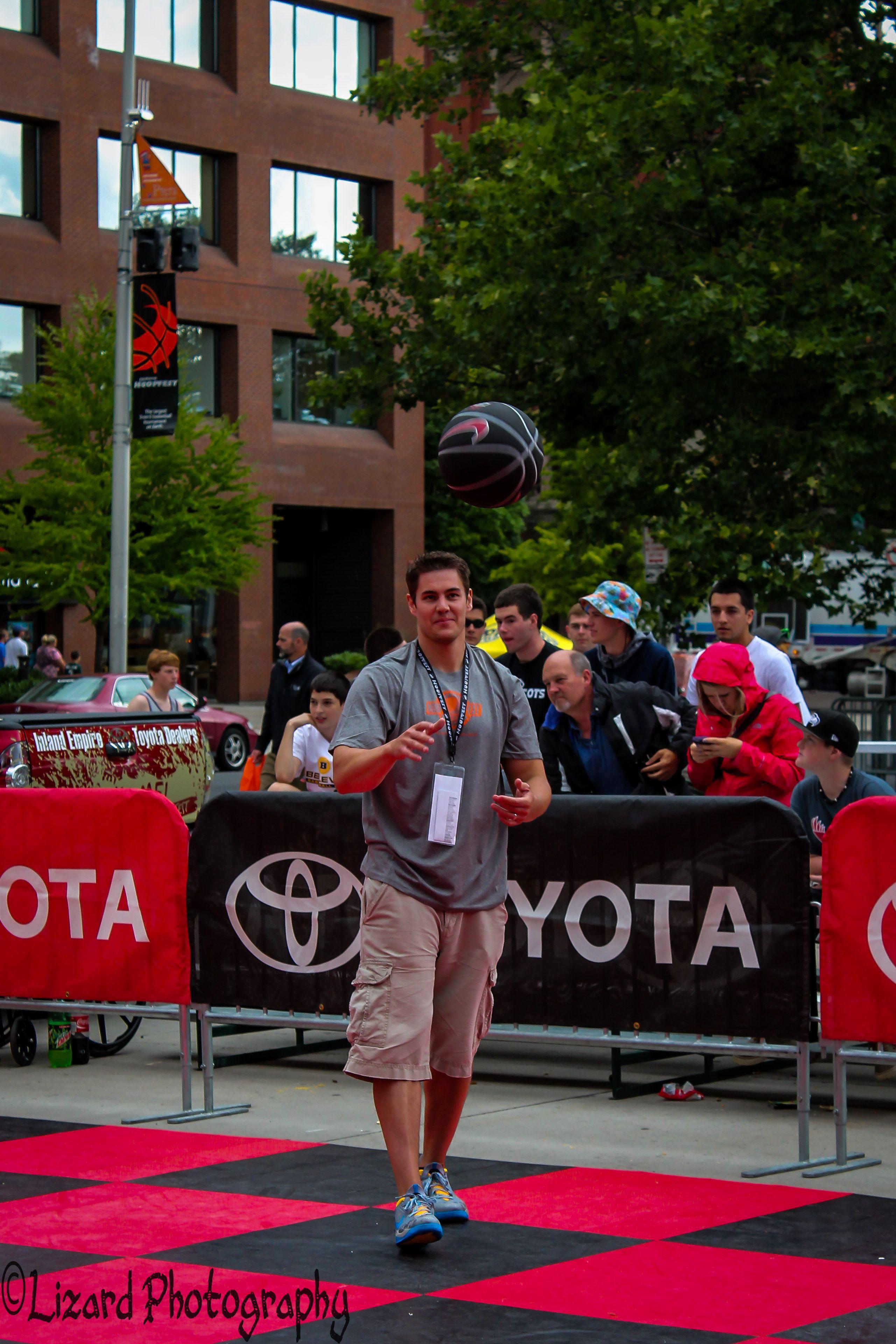 Toyota free throw challenge #hoopfest25 - Elizabeth McNally Photographer