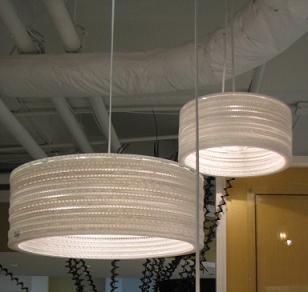 Joi: Lighting   City Honeycombed Hanging Lamp Pendant White   Honeycomb Pendant  Light