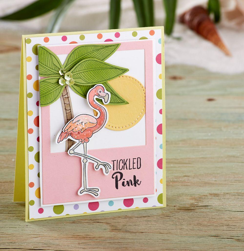 открытка фламинго расскажем, как фотообои